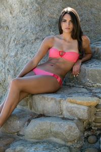 Kyra Santoro in a bikini