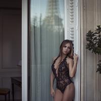 Anastasia Plyaskina in lingerie