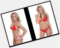 Amanda Pflugrad in a bikini