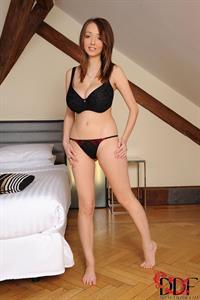 Lucie Wilde in lingerie