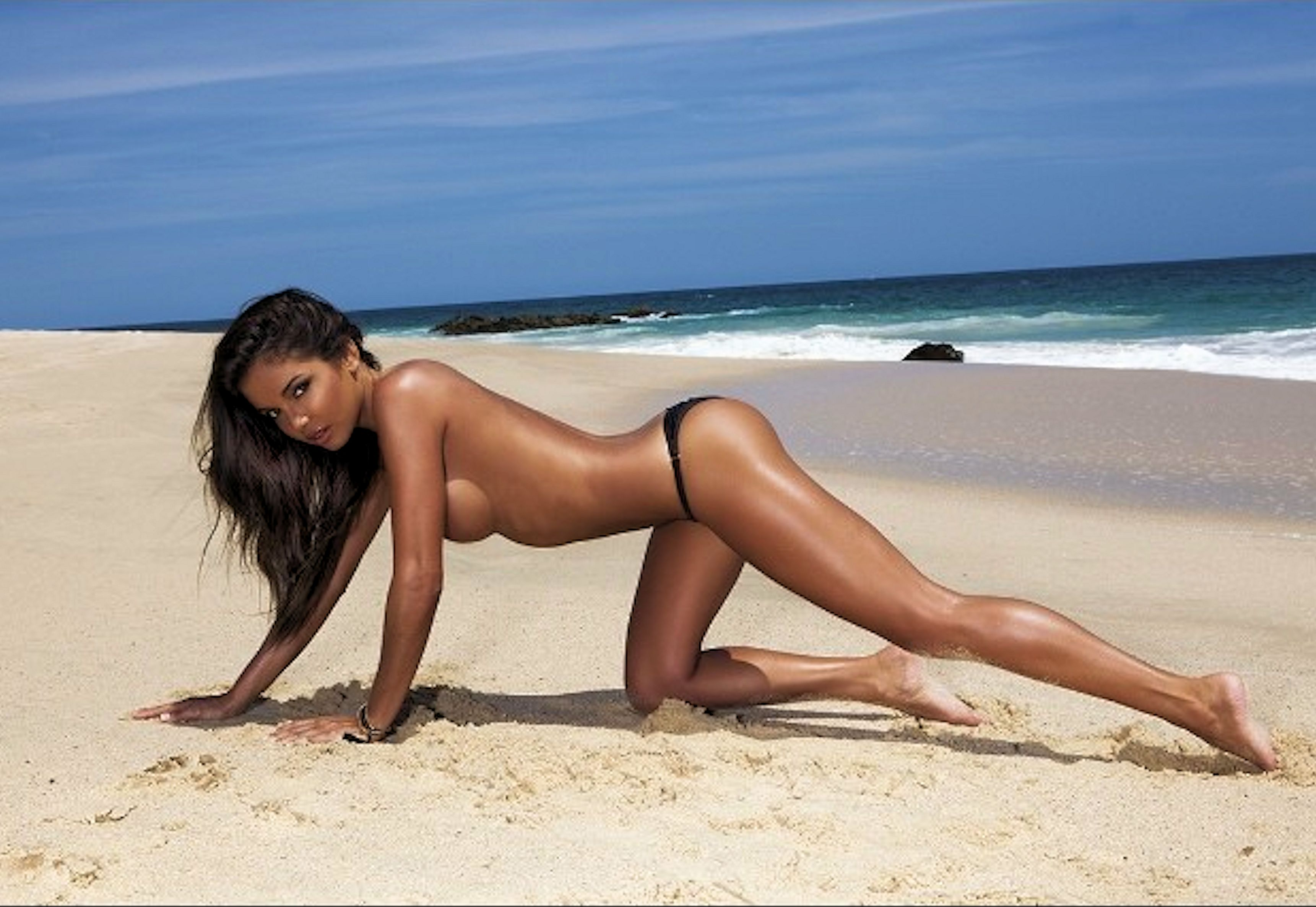 Tiny naked Asian girl