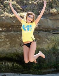 Megan Jemison in a bikini