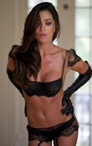 Jasmine Waltz in lingerie