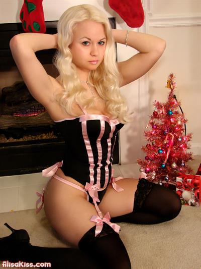 Alisa Kiss in lingerie
