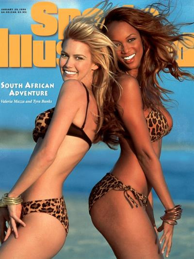 1996 Sports Illustrated Swimsuit Edition Cover with Tyra Banks