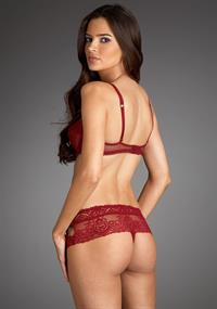 Jennifer Lamiraqui in lingerie - ass