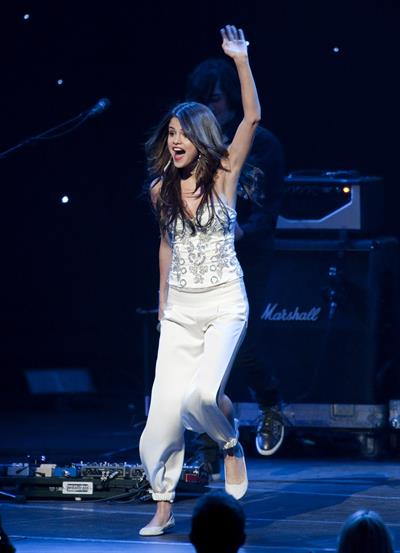 Selena Gomez KIIS FM's Jingle Ball 2010 NOKIA Theatre Los Angeles on December 5, 2010