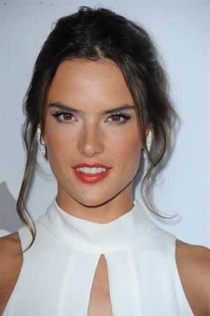 Alessandra Ambrosio attending Pathway to the Cure Benefit at Santa Monica Airport June 11, 2014
