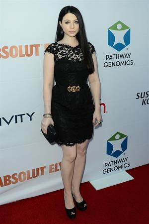 Michelle Trachtenberg attending the Pathway to the Cure Benefit at Santa Monica Airport June 11, 2014