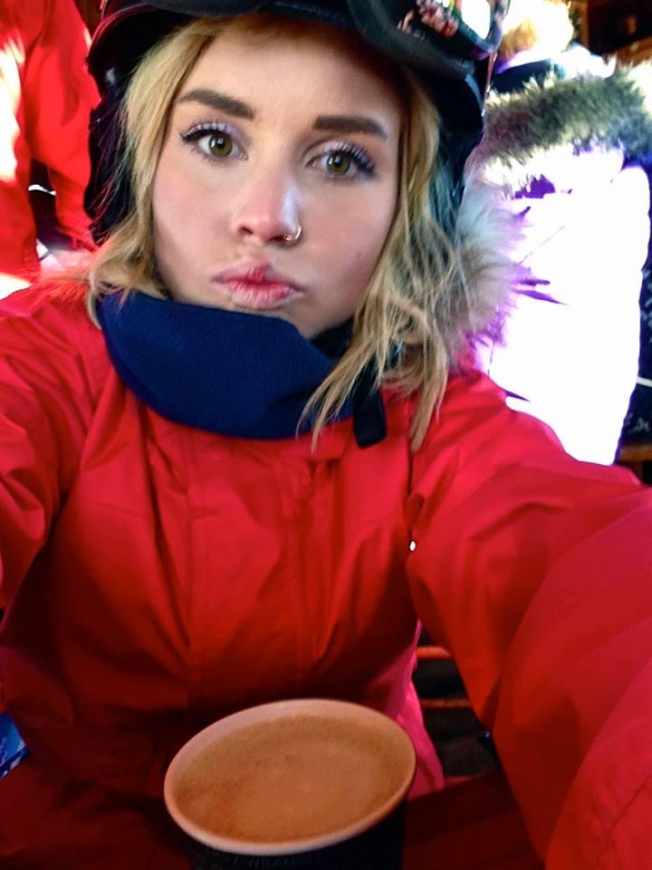 Carlie Mitchell taking a selfie