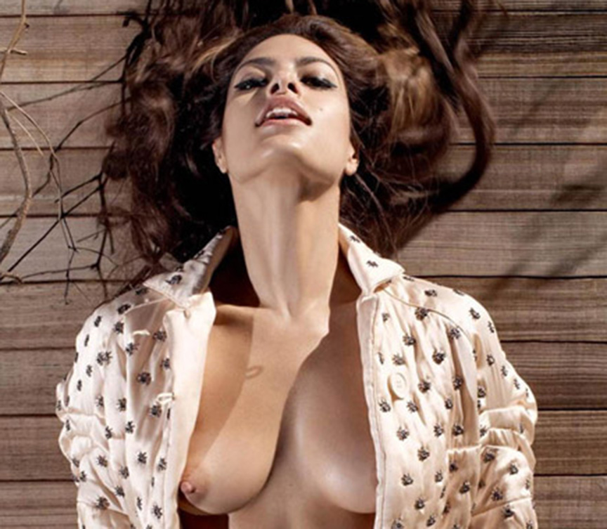 Eva Mendes - breasts