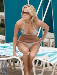 Carrie Underwood in a bikini