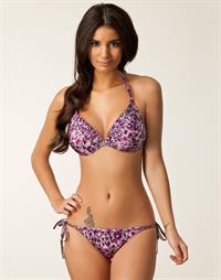 Johanna Lundback in a bikini