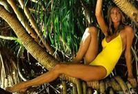 Cheryl Tiegs in a bikini