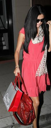 Selena Gomez leaving a salon in West Hollywood on April 6, 2012