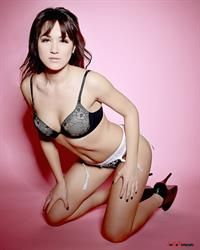 Kimberly Kisselovich in lingerie