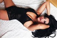 Charlotte Springer in lingerie