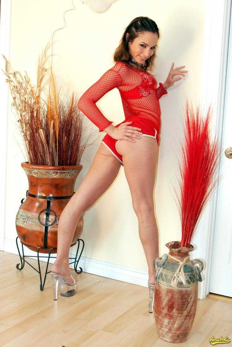 Amber Rayne in lingerie - ass