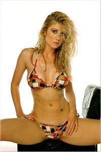 Brande Roderick in a bikini