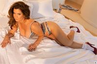 Carrie Stevens in lingerie