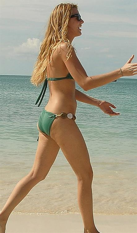 Blake Lively in a bikini - ass