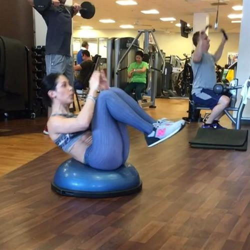 Bella Falconi in Yoga Pants