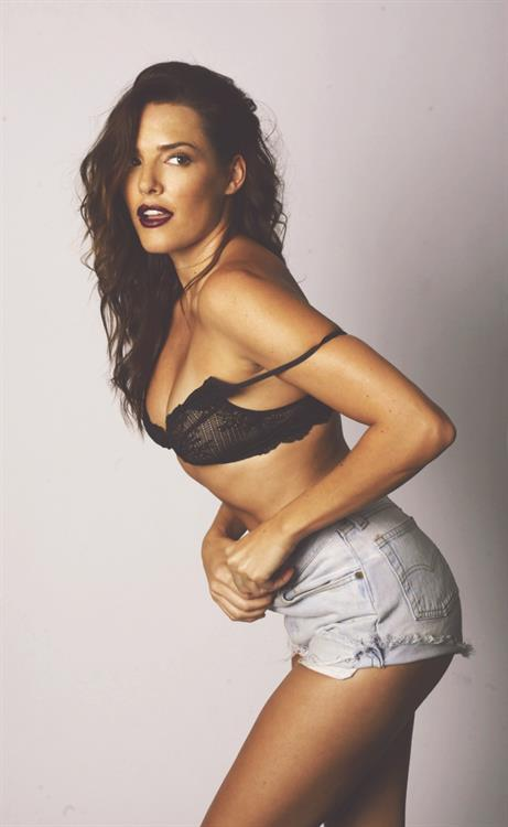 Holly Lynch in lingerie