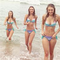Anna Faith in a bikini