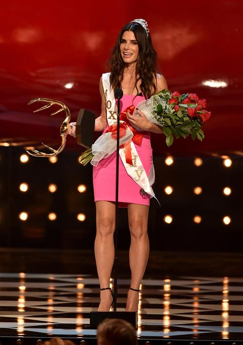 Sandra Bullock at Spike TVs Guys Choice 2014 June 7, 2014