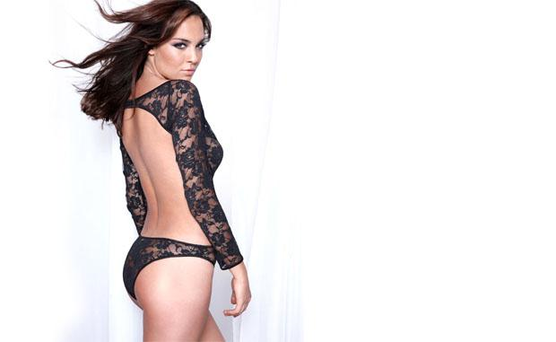 Andi Muise in lingerie - ass