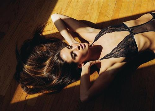 Kaylee Ricciardi in lingerie