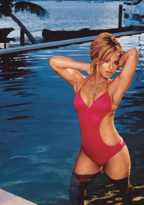 Christina Milian in a bikini
