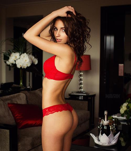 Galina Dubenenko in lingerie - ass