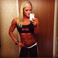 Nicole Wilkins taking a selfie