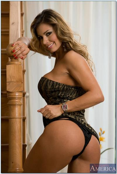 Esperanza Gómez in lingerie - ass