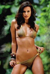 Carol Prates in a bikini