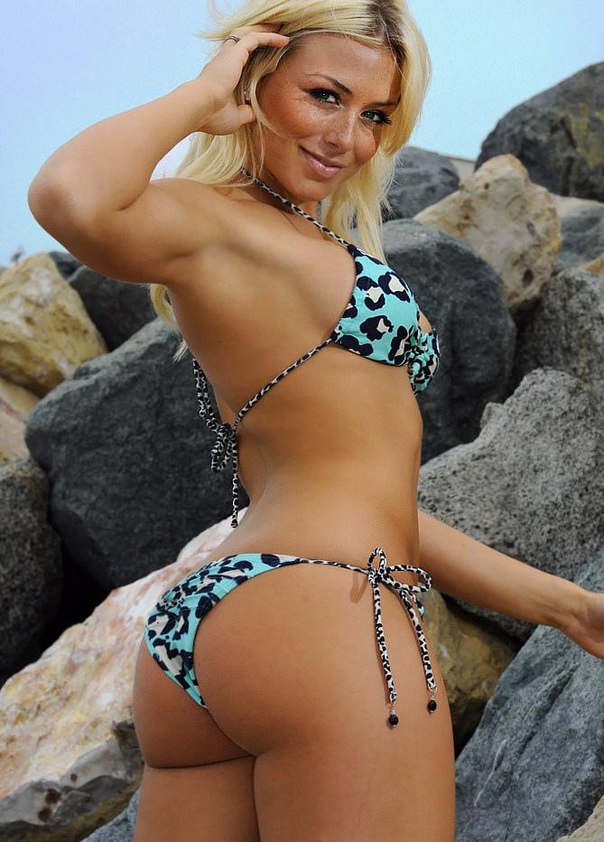 Dianna Dahlgren in a bikini - ass