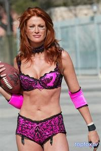 Angie Everhart in lingerie