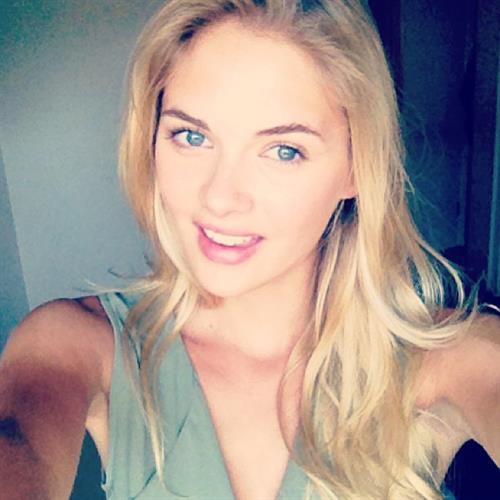 Megan Williams taking a selfie