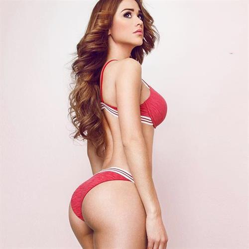 Yanet Garcia in lingerie - ass