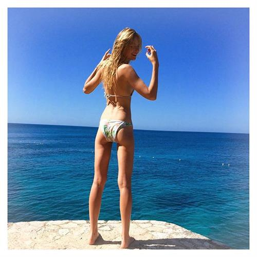 Bridget Malcolm in a bikini - ass
