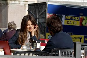 Kate Beckinsale On Set of The Face of an Angel in Rome November 11-2013