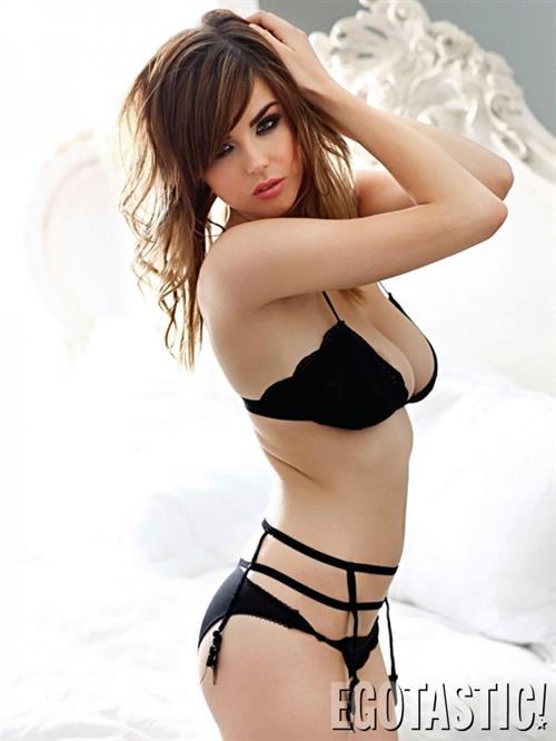 Danielle Sharp in lingerie