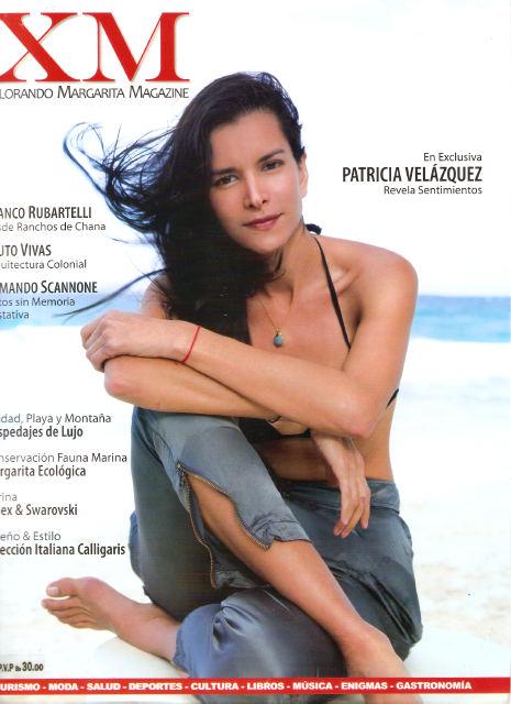 Patricia Velásquez in a bikini