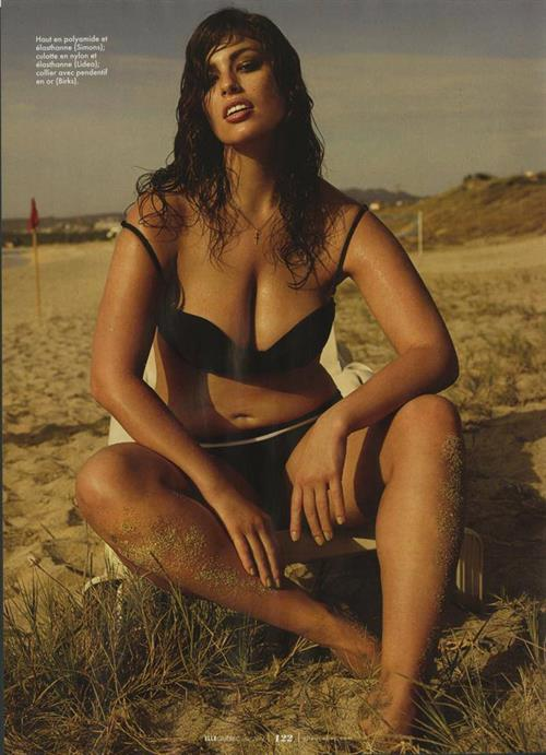 Ashley Graham in a bikini