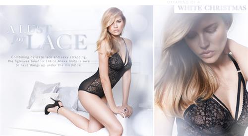 Tanya Mityushina in lingerie