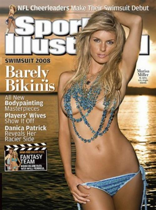 Marissa Miller on 2008 cover of Sports Illustrated Swimsuit Edition