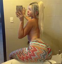Cecibel Vogel taking a selfie