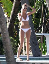 Maryna Linchuk in a bikini