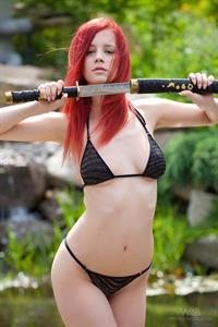 Piper Fawn in a bikini